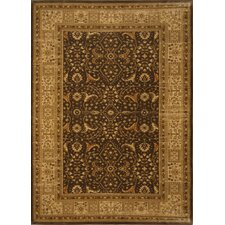 <strong>Home Dynamix</strong> Antiqua Brown/Cream Rug