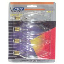 <strong>FeitElectric</strong> Straight Tip Chandelier Light Bulb (Pack of 4)