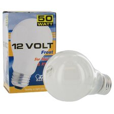 50W Frosted 12-Volt Light Bulb