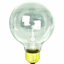<strong>FeitElectric</strong> 40W Clear 120-Volt Globe Light Bulb