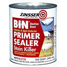 B-I-N® Shellac Base Primer & Sealer Stain Killer 00904