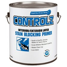 1 Gallon White Interior/Exterior Latex Stain Blocking Primer