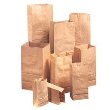 12 Kraft Paper Bag in Brown