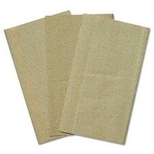 Kraft Single Fold Paper Towels - 250 Towels per Pack