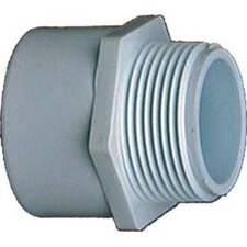 "1/2"" x 3/4"" PVC Sch. 40 Reducing Male Adapter"