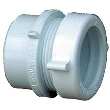 "1-1/2"" x 1-1/4"" Sch. 40 PVC-DWV Fitting Trap Adapter"