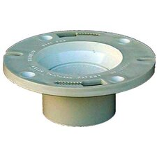 "4"" x 3"" Sch. 40 PVC-DWV Pop Top Closet Flange"