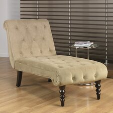 Curves Velvet Chaise Lounge