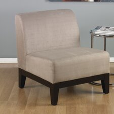 <strong>Ave Six</strong> Glen Fabric Slipper Chair