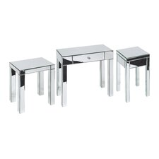 Reflection 3 Piece Table Set
