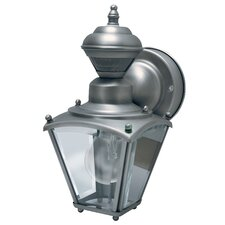 1 Light Motion Activated Wall Lantern