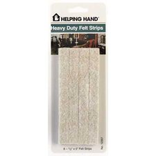 Heavy Duty Felt Strip (Set of 8)