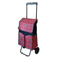 Plaid Shopping Cart