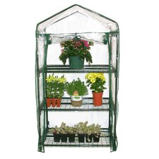 "3 Tier 19"" W x 27"" D Growing Rack Greenhouse"