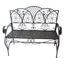Sunleaves Metal Garden Bench