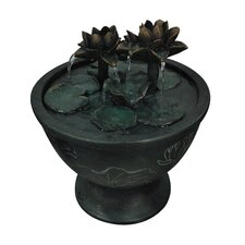 Fiberglass Lotus Pot Fountain