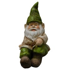 Gnome Lying Down Statue