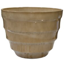 Round Rippled Bowl Planter