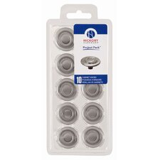 "<strong>HickoryHardware</strong> Cavalier  Pro Project 1.38"" Cabinet Round Knob (Set of 10)"