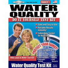 Do-It-Yourself Water Quality Test Kit WQ105