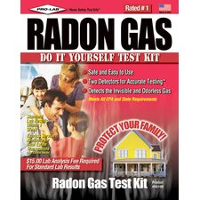 Do-It-Yourself Radon Gas Test Kit RA100