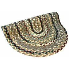 Beacon Hill Beige, Green & Burgundy Multi Round Rug