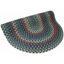 Pioneer Valley II Carribean Blue Multi Round Outdoor Rug