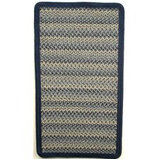 <strong>Thorndike Mills</strong> Pioneer Valley II Williamsburg Blue with Dark Blue Solids Multi Square Rug