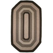 Green Mountain Fudge Brown Multi Elongated Octagon Rug