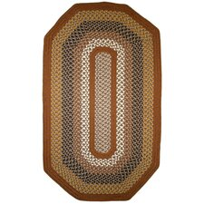 Green Mountain Maple Syrup Multi Elongated Octagon Rug