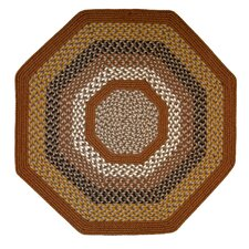 Green Mountain Maple Syrup Multi Octagon Rug