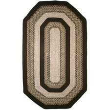 Beantown Baked Beans Brown Multi Elongated Octagon Rug