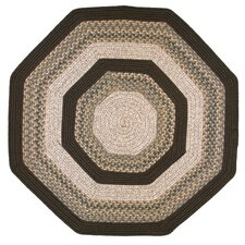 <strong>Thorndike Mills</strong> Beantown Baked Beans Brown Multi Octagon Rug