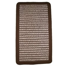 Town Crier Brown Square Rug