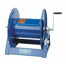 Large Capacity Welding Reels - large capacity hand crank welding cable reel