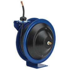 Spring Driven Welding Cable Reels - spring rewind welding cable reel