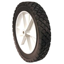 "10"" x1.75"" Plastic Lawn Mower Wheel 335100"