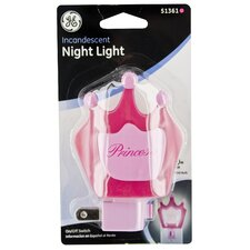 Incandescent Princess Night Light