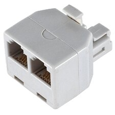 Duplex Wall Jack Adapter