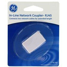 RJ45 in Line Network Coupler