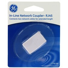 RJ45 in Line Network Coupler