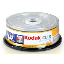 Kodak 52X Compact Disc (Pack of 25)