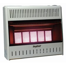 <strong>World Marketing</strong> 25,000 BTU Infrared Wall Propane Space Heater