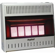 30,000 BTU Infrared Wall Space Heater