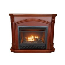 <strong>KozyWorld</strong> Kensington Dual Fuel Vent Free Gas Fireplace