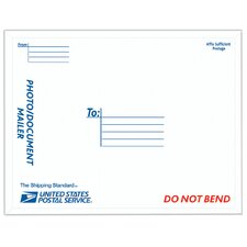 "9"" USPS Photo Conformer Mailer in White"