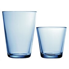 Kartio Glassware Set Light Blue