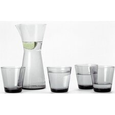 Kartio Glassware Set Grey