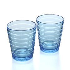 Aino Aalto 7.75 Oz. Tumblers Light Blue (Set of 2)
