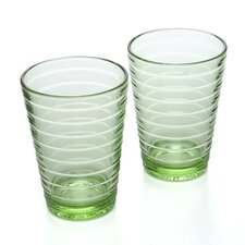 Aino Aalto 11.75 Oz. Tumblers Apple Green (Set of 2)